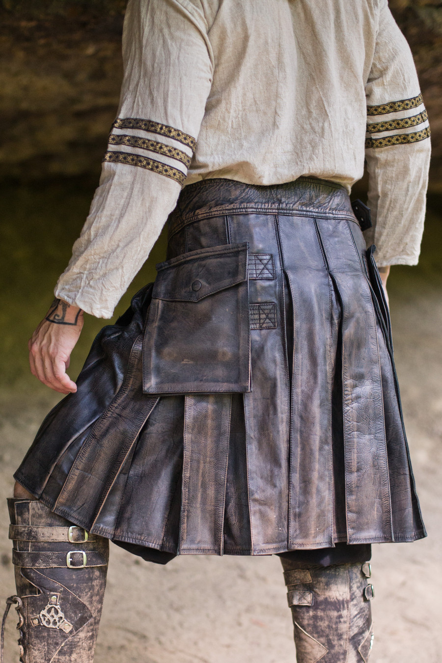 Versatta Marauder Leather Kilt