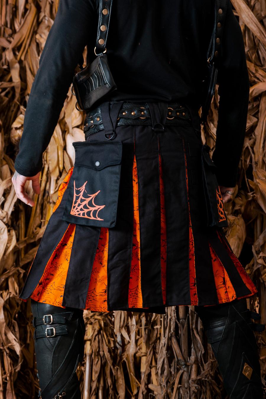 Versatta Spooky Spider Kilt - Limited Edition