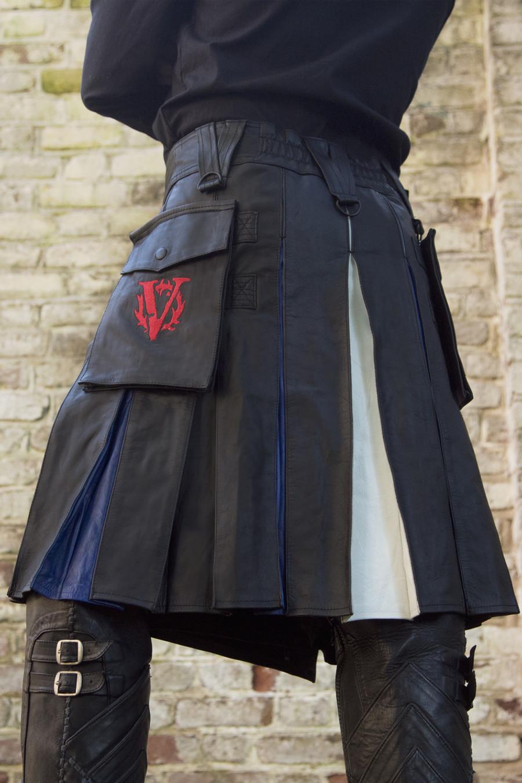 Versatta Leather Pride Hybrid Kilt