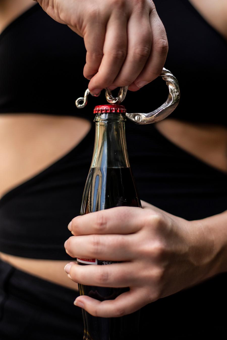 Cobra Bottle Opener