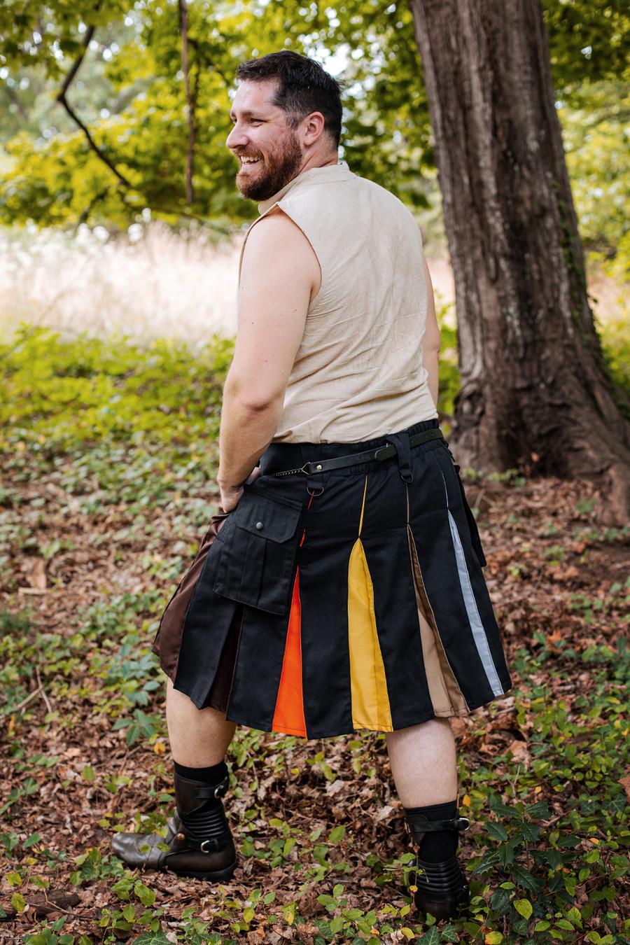 Versatta Bear Pride Hybrid Kilt