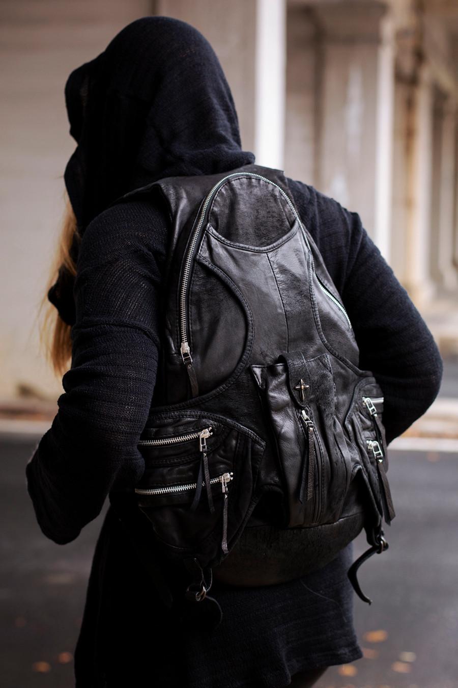 Order 34 Leather Backpack