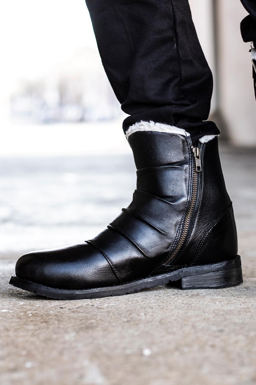Valiant Aviator Boots