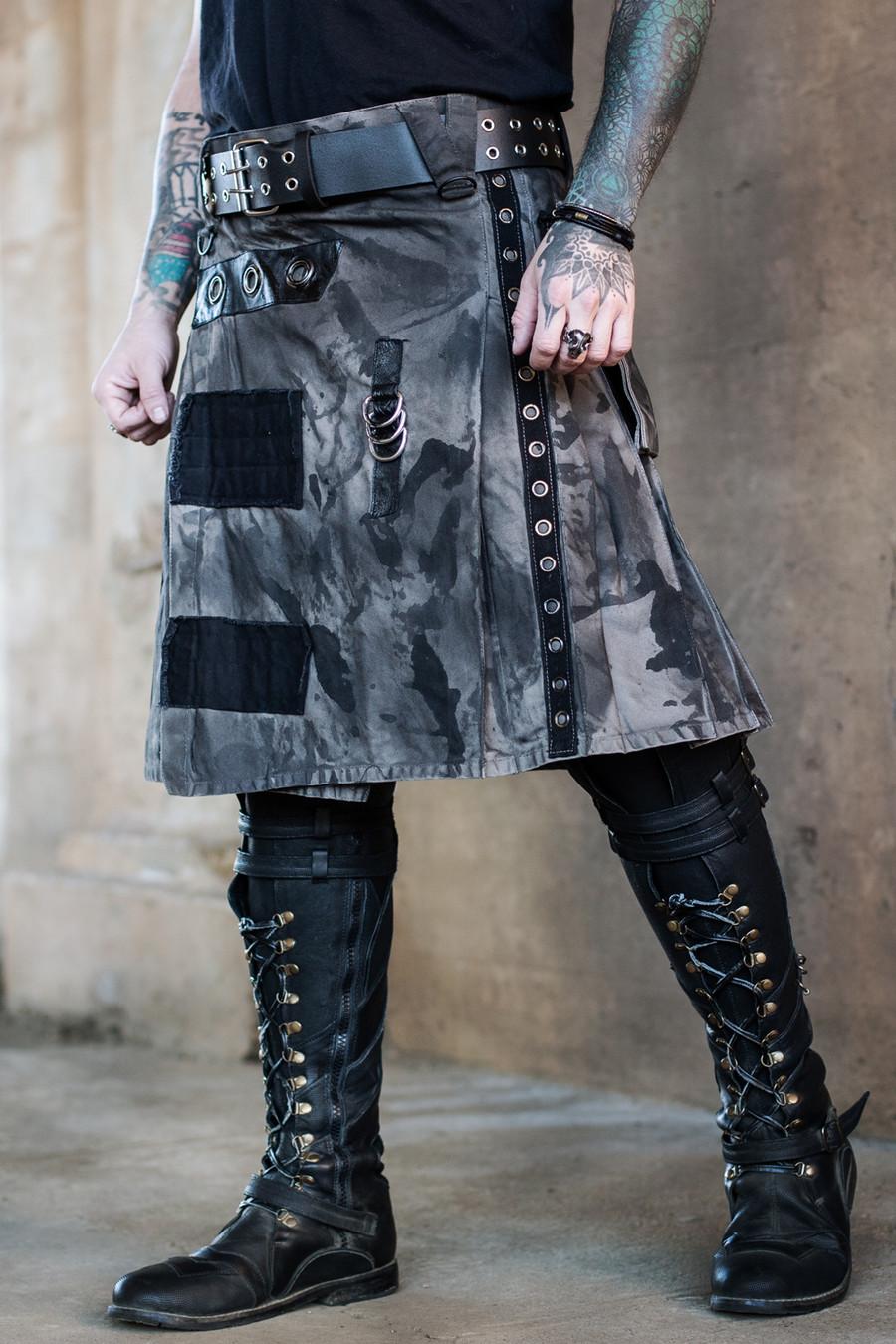 Versatta Warmetal Kilt - Gray/Black