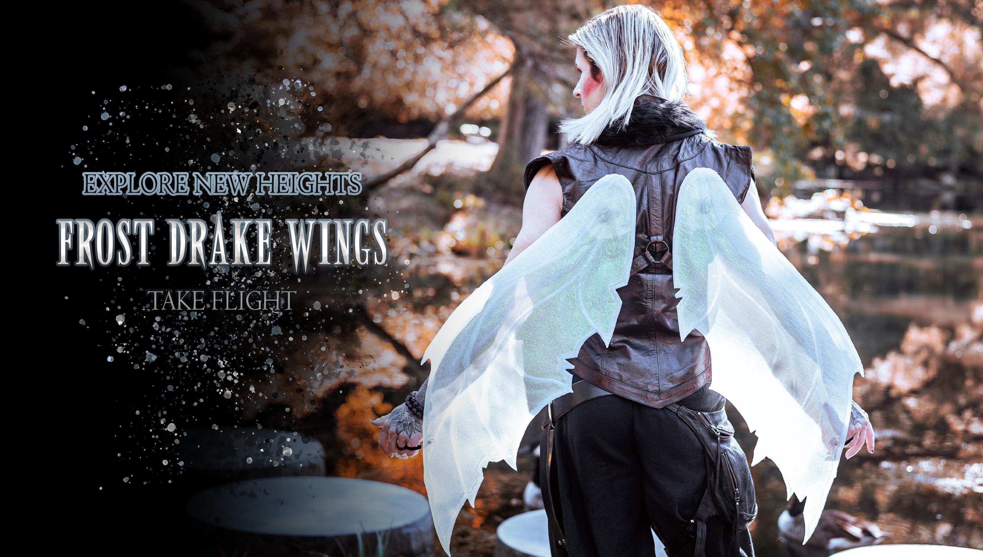 Verillas Frost Drake Wings Glow in the Dark