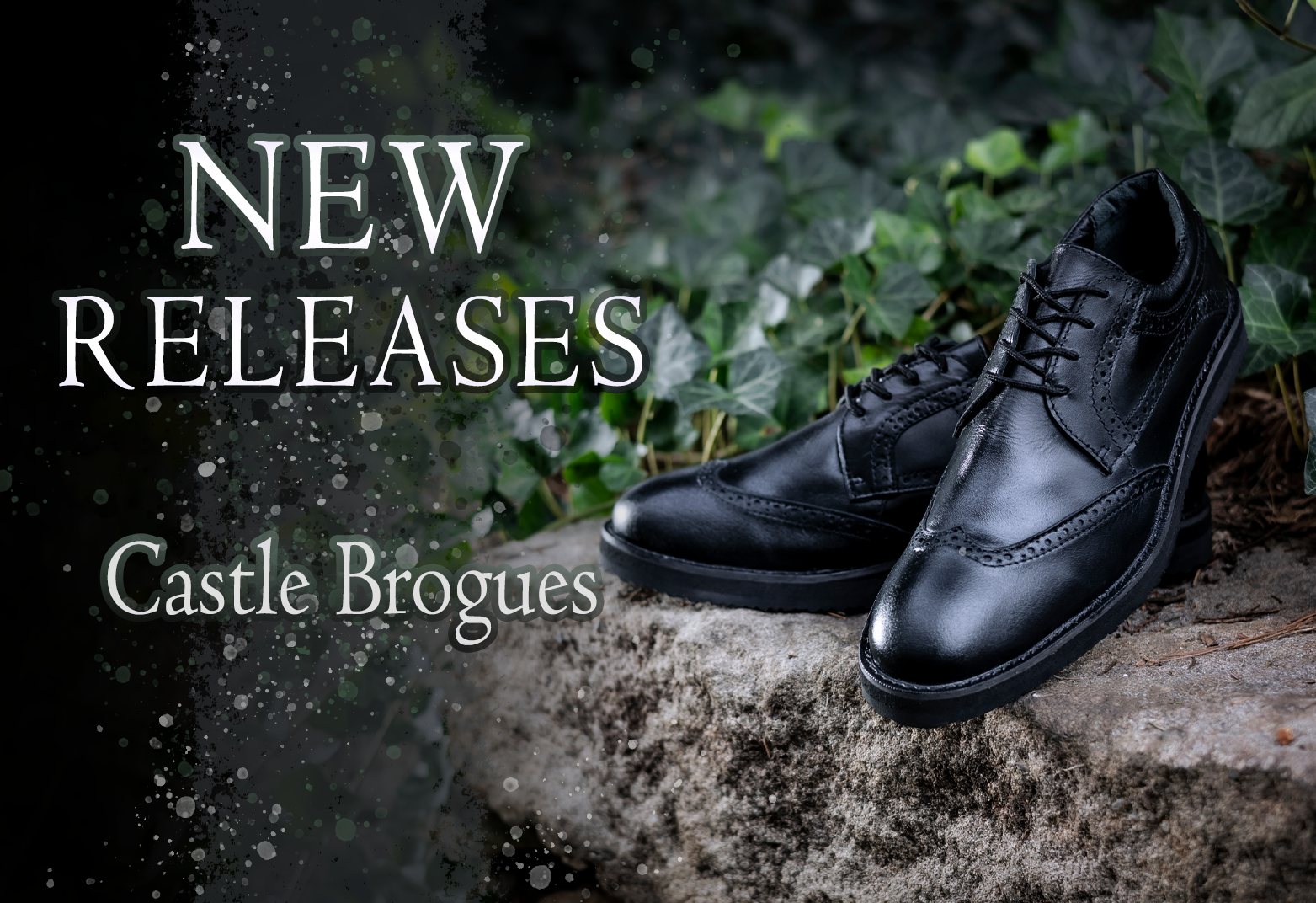 Verillas New Releases - Castle Brogues Leather Formal Shoes