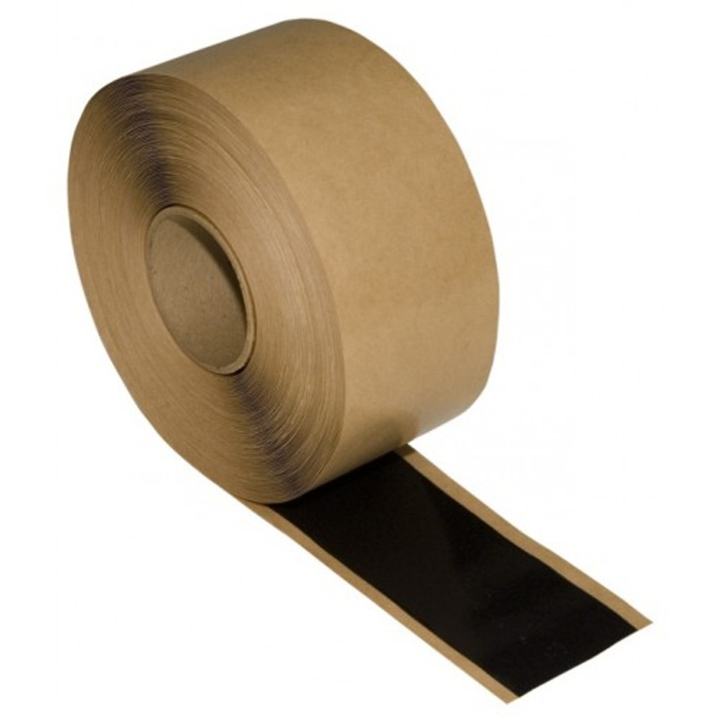 Roll of seaming tape shown with a small amount rolled out.