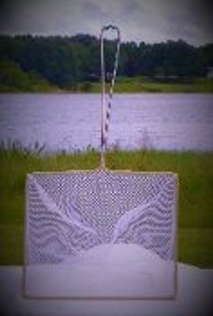Medium sized net shown here vertically