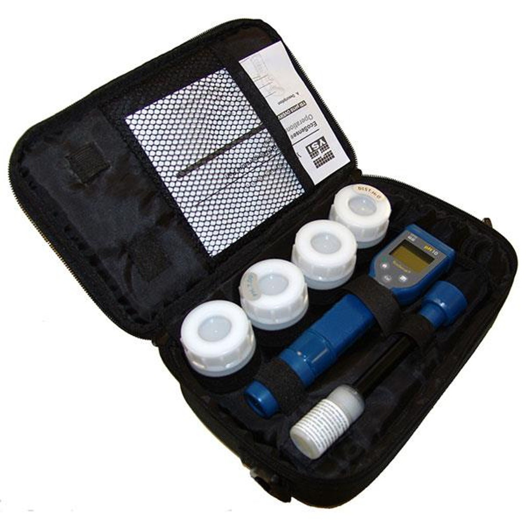 Case shown with pen and accessories in storage