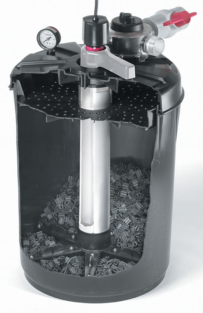 Cutaway View of Pro-Line Filter Vessel