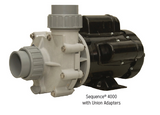 Sequence 4000 pump with unions
