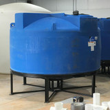 1150-gallon Round Cone Bottom Poly Tank