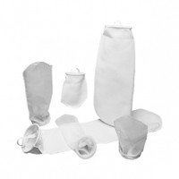 Photo shows a variety of filter bags standing up and laying down to show the variety available.