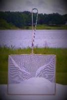 Medium sized net shown here vertically