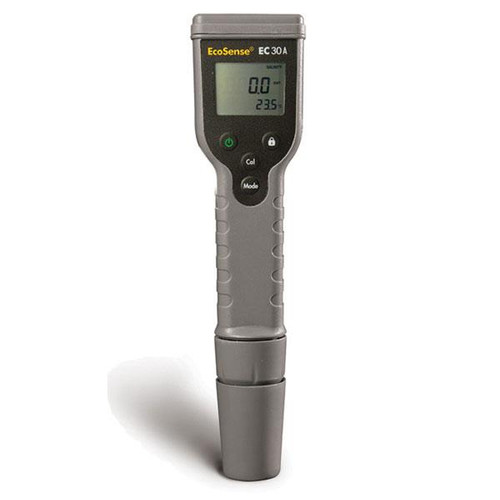 Conductivity Pen shown standing upright facing the user