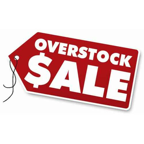 Overstock & Used Inventory Sale