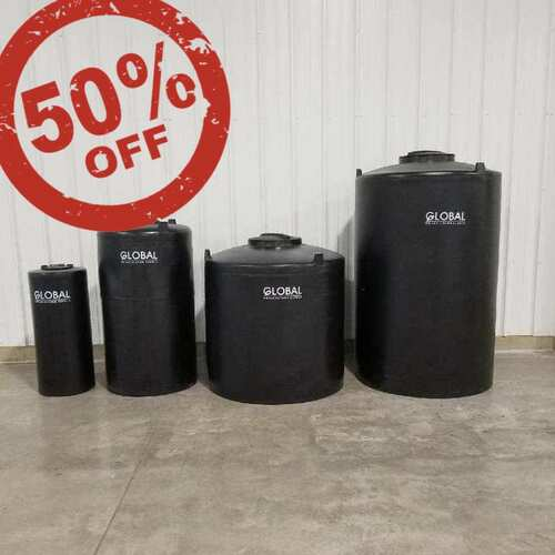 50% OFF Tanks & Biofilters