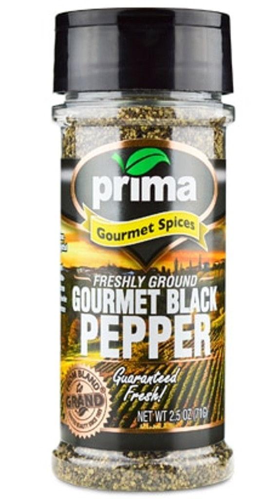 Black Pepper, Gourmet Grind