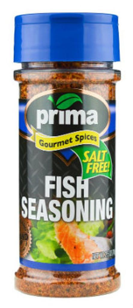 Fish Seasoning Salt Free