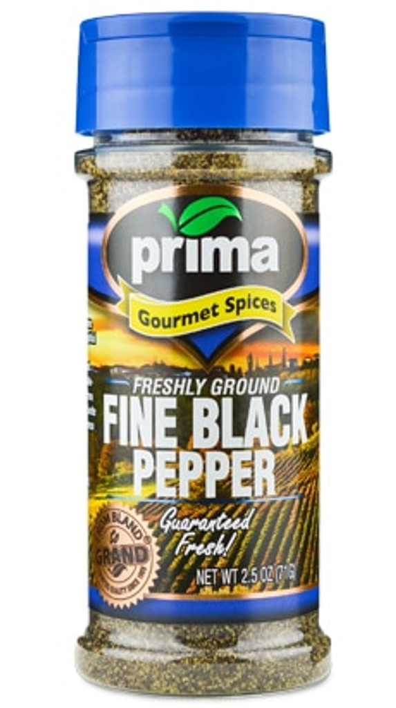 Black Pepper, Fine Grind