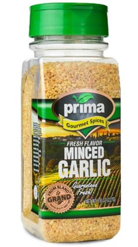 Garlic, Domestic, Minced