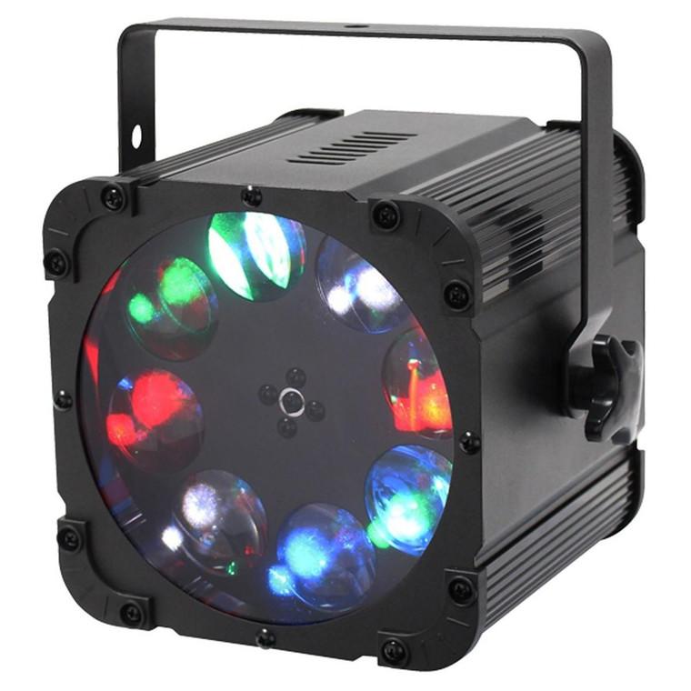 Equinox Crossfire XP Gobo Moonflower 8 x 10W RGBW LED Lighting Effect with DMX