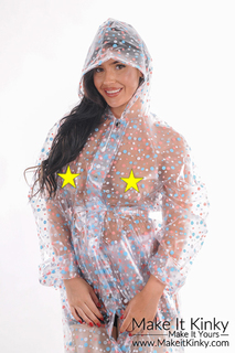 """PUL """"outgoing"""" Raincoat -IN STOCK-"""