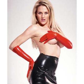 Unisex Latex Elbow Gloves -IN STOCK-