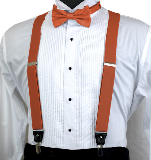 Mens Orange Big and Tall XL Self Tie Bow Tie X-Long Bow Ties