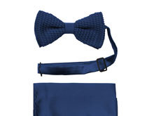 Knit Bow Tie Sets
