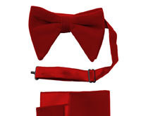 Velvet Bow Tie Sets