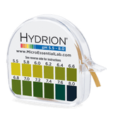 Hydrion pH Test Kit - pH 5.5 to 8.0 Indicator Paper