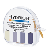 Hydrion Iodine 50-225 ppm Test Kit - 4.5 Metre Paper Roll