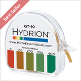 Hydrion QT-10 Quat 0-400 ppm Test Kit - 4.5 Metre Quaternary Test Paper