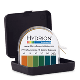 Hydrion Ammonia 0-100 ppm Test Kit - 4.5 Metre Ammonia Test Paper