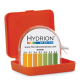 Hydrion MicroFine Display pH 2.8-4.6 Test Kit