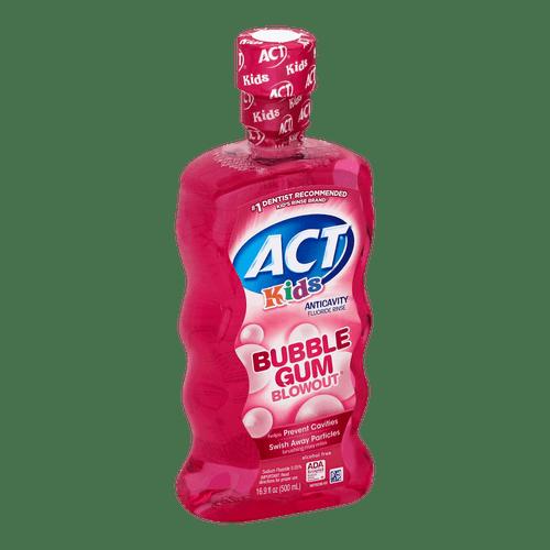ACT Kids Anticavity Fluoride Mouthwash