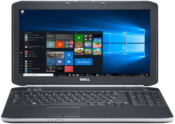 DELL LAPTOP  E5530 i5 3RD  GEN 15.6''- 8GB  180GB SSD- 15.6''