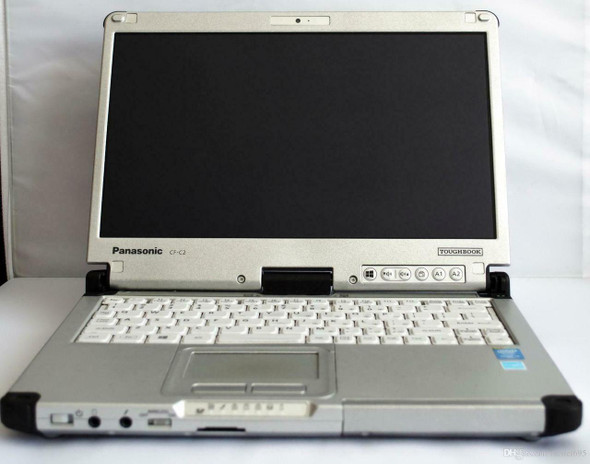 Panasonic Toughbook CF-C2 i5-4TH GEN 8GB  180GB SSD Touch Rugged Laptop WIFI