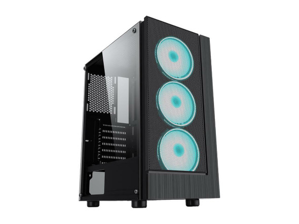 Gaming PC TOWER i5 6th Gen W/Video card AMD NITRO 570 8GB, 8GB RAM 480GB SSD+ 1TB HDD-WIN 10 PRO