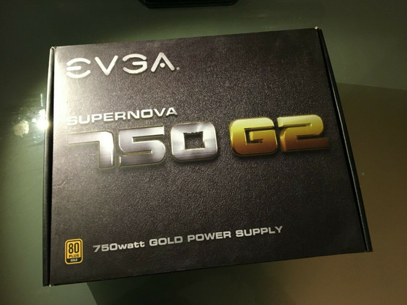 EVGA GAMING  SuperNOVA 750 POWER SUPPLY  750W, Fully Modular WITH ALL CABLES