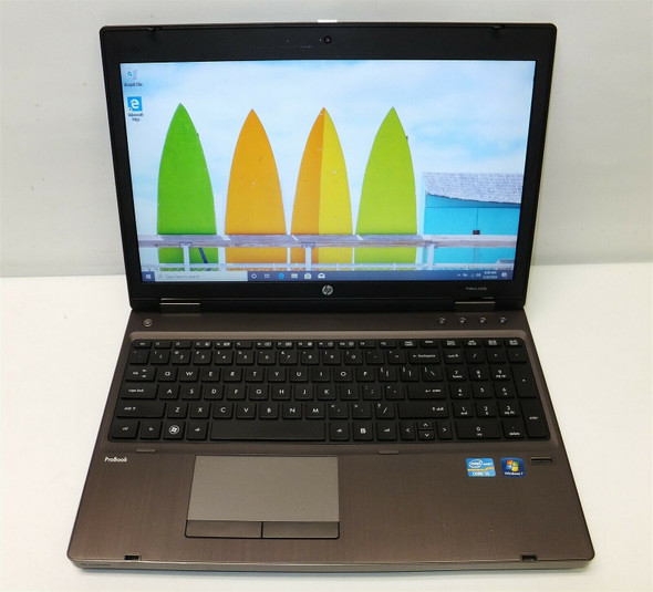 HP PROBOOK 6560B i5 2ND GEN   8GB 320GB HDD 15'', WEBCAM  -WIN 10 PRO