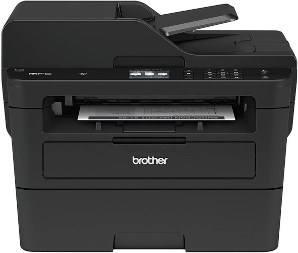 Brother MFCL2750DW Wireless Monochrome Laser Printer with Scanner, Copier & Fax, Black-NEW