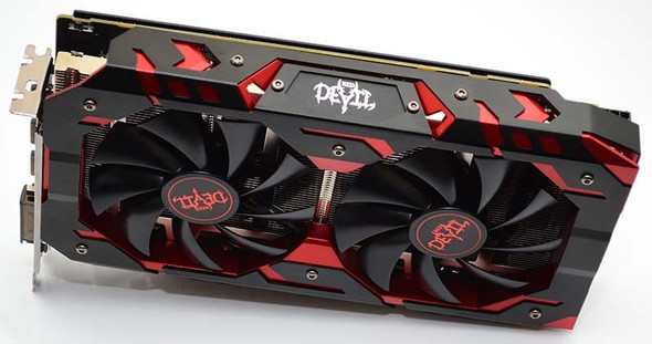 PowerColor Red Devil AMD Radeon RX 580 8GB GDDR5 - GREAT CONDITION - TESTED