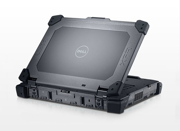 Dell E6400 XFR Rugged TOUGH CORE 2 DUO  120GB-SSD  4GB   DVD WIN 10