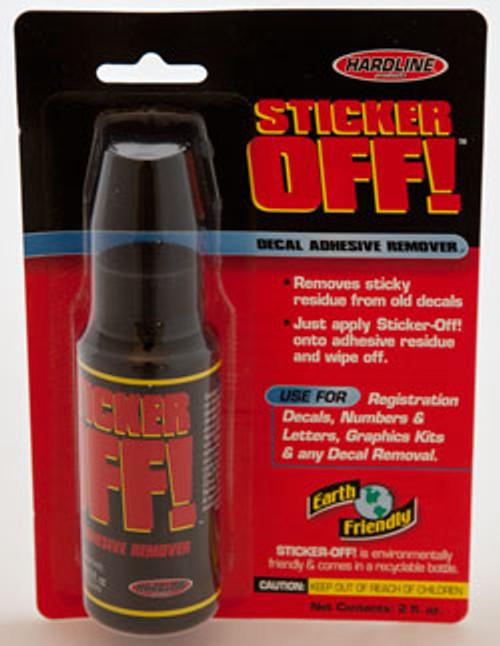 Hardline Sticker Off! Adhesive Remover