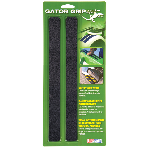 "Gator Grip Traction Tape 1"" x 12"" Black (6 Pack)"