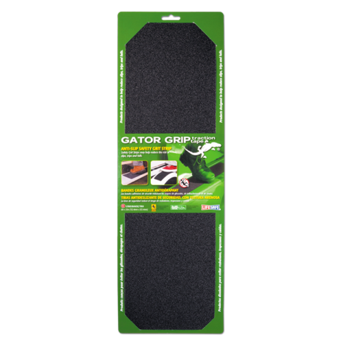 "Gator Grip Traction Grit Tape Black  6"" x 12"" Single Pack)"