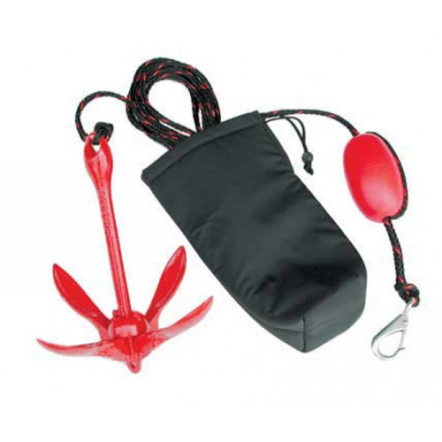 Jet Logic Coated Grapnel Anchor