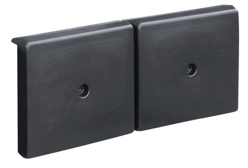 "JIF Marine Dock Side Bumper 10"" x  23.5"" - Black"